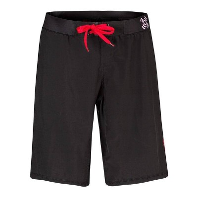 Pro Light Shorts - Black-red