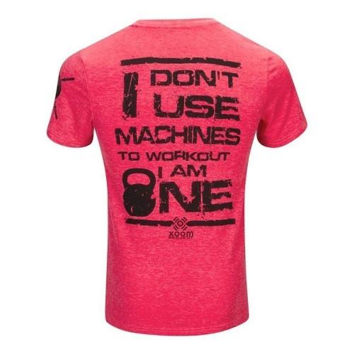 Camiseta don't use machines - Azul