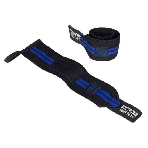 Velcro Wrist Wrap - Black-Blue